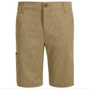 Levi's 511 Boys Khaki Stretchy Jean Shorts